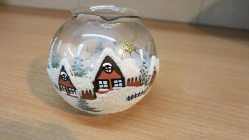 Kerst versiering Origineel Tsjechië handgeblazen en hand ges