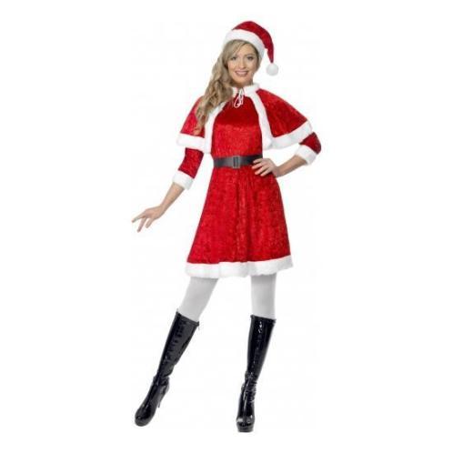 Rood kerstjurkje voor dames - Kerstjurkjes