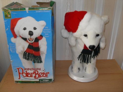 Kerst swingen polar sneeuwman beer sneeuwpop MR CHRISTMAS