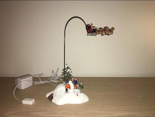 Lemax vliegende Kerstman met kerstmuziekje