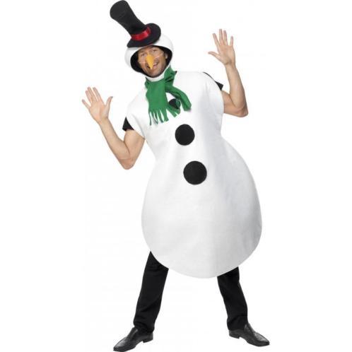 Carnavalspak sneeuwpop - Kerst kleding overig