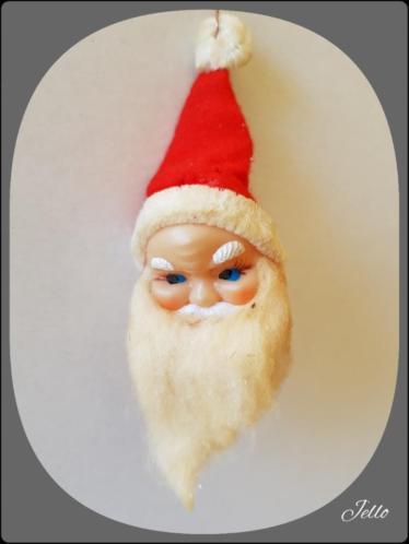 Oude antieke kerstman met watten/wattenbaard/kerst