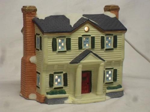 Dickensville kerstdorp Porseleinen huisje