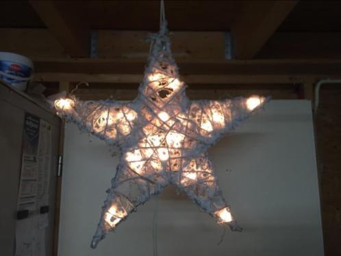 Verlichte Kerstster diameter 50 x 50 cm