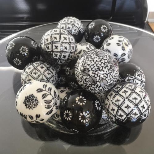 18 exclusieve riviera maison porseleinen kerstballen