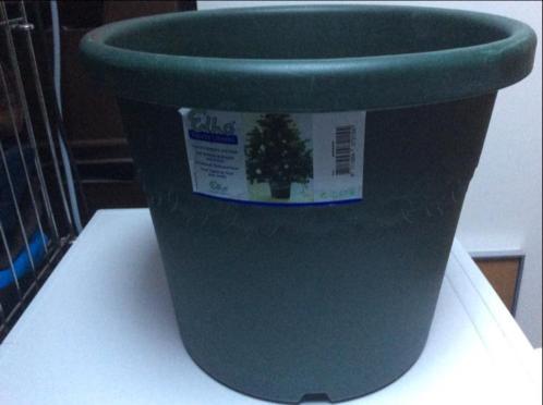 Pot voor kerstboom kerstboompot van kunststof