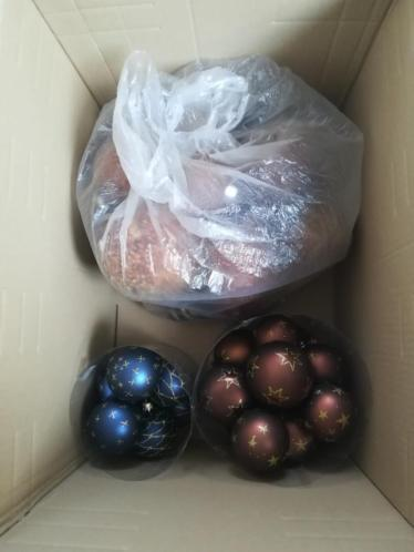 Kerstballen en nog wat overige versiering