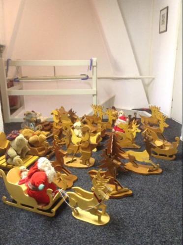 Kerst decoratie/artikelen voor kerstmarkt/ beurs handgemaakt