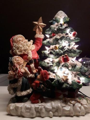 Kerst beeld met lampjes