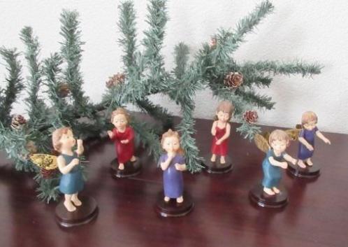 6 zeer Mooie Kerst Engeltjes