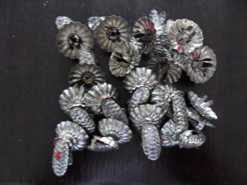 kerstboom kaarsenknijpers 17 stuks
