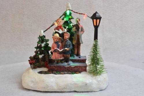 Kerstdorp Gezinskoortje