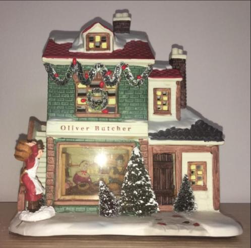 Dickensville (kersthuisje) Olivier Butcher