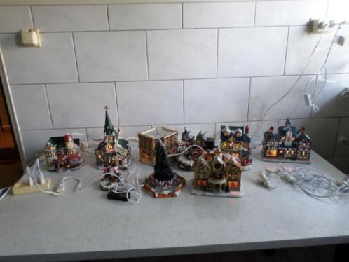 complete kerst dorp voor 200 euro