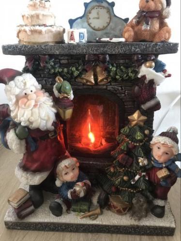 Openhaard kerst groot