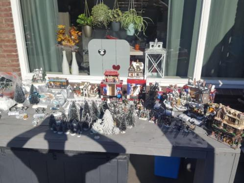 Kerstdorp in de verkoop