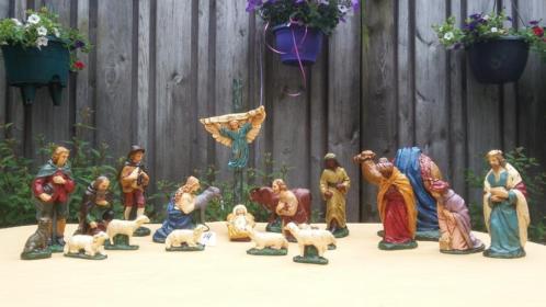 no 14 kerstgroep kerststal kerst beelden