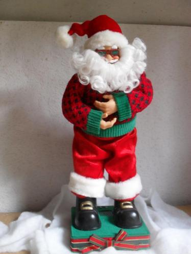 zingende en twistende kerstman