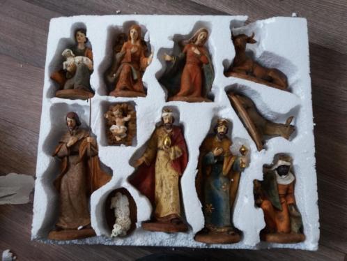 Kerststal figuren