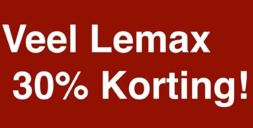 Profiteer nu van 30% korting op heel veel Lemax !