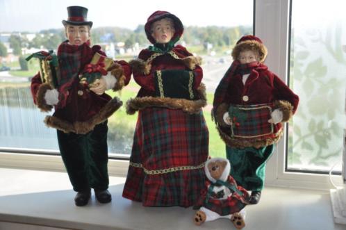 Carolsingers ( kerstpoppen)