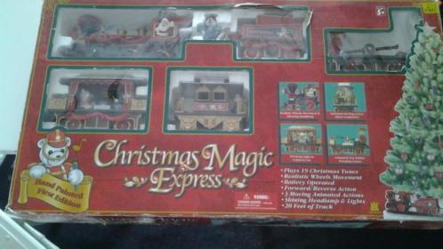Zeer Grote kerst trein christmas magic express kersttrein