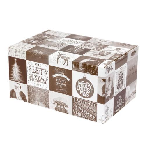 kerstpakketdoos karton kerstdoos voor kerstpakket 25 stuk