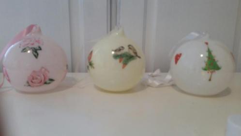 Handgemaakte kerstballen