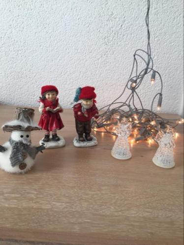 Leuke kerstspulletjes samen € 7,50
