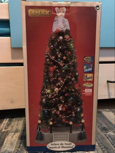 Lemax Lighted Musical Christmas Tree