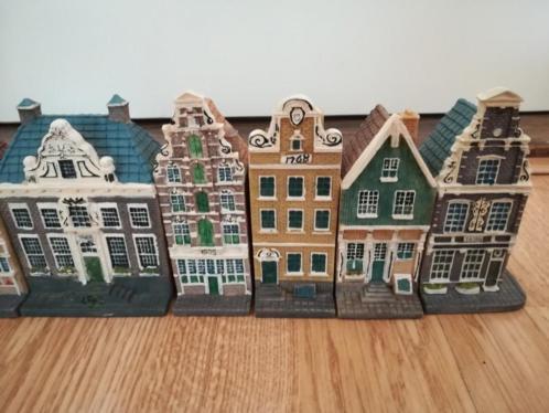 Te koop 8 grachtenhuisjes als nieuw van Blokker 100 jaar.