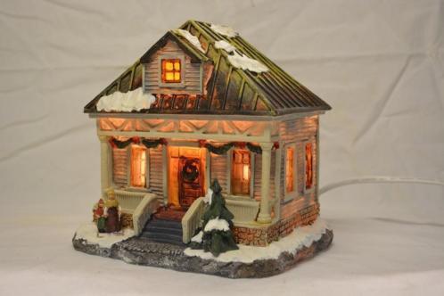 Intratuin Kerstdorp Landhuis met Dakkapel