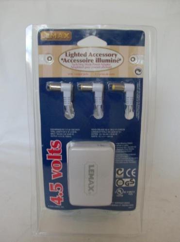 Lemax Adapter/Trafo 4.5 Volt D63