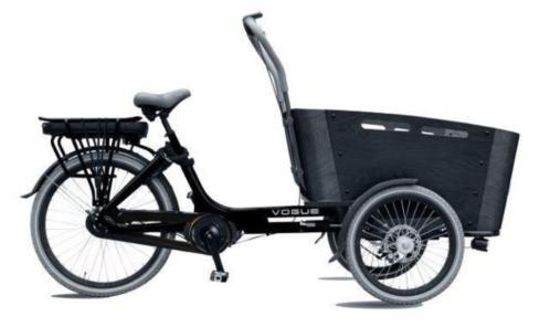 Vogue Carry 7sp 13ah Bafang elektrische bakfiets middenmotor