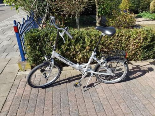 Te koop z.g.a.n. vouw fiets met 6 versnellingen.