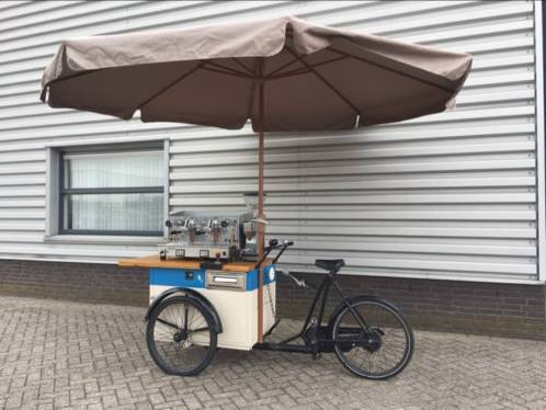 Bakfiets Espresso bar barista