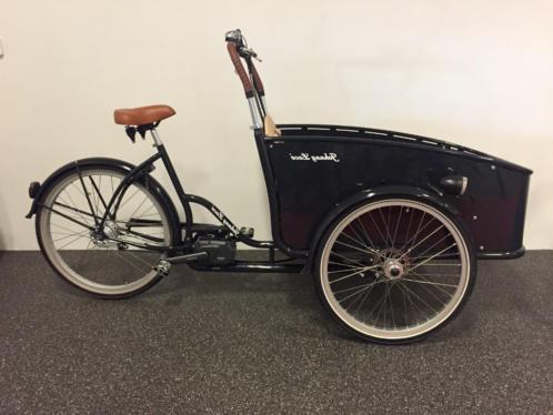 Johnny Loco elektrische bakfiets nu direct leverbaar!NIEUW!!