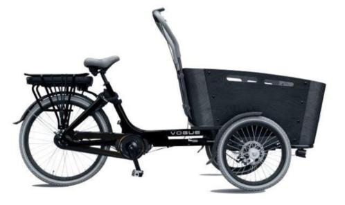 Vogue Carry 7sp 13ah Bafang elektrische bakfiets middenmotor