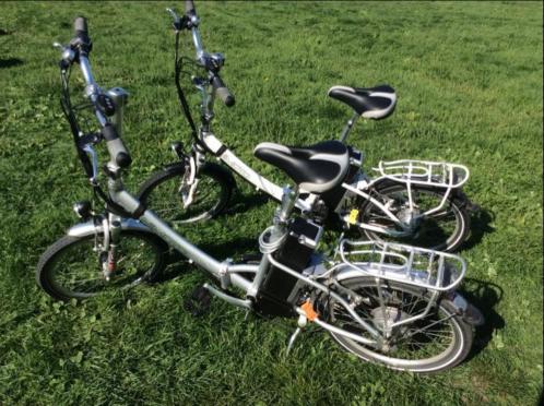 2 elektrische vouwfietsen voor € 850,00
