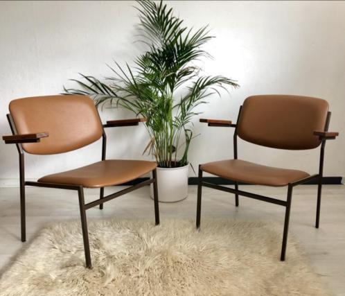 Vintage fauteuil stoel Spectrum Martin Visser jaren 60