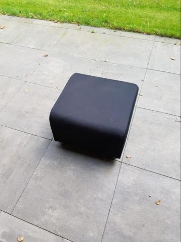 Ikea Klippan poef Zgan
