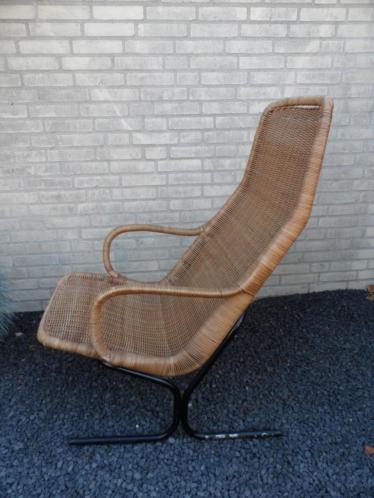 Dirk van Sliedregt fauteuil jaren 60