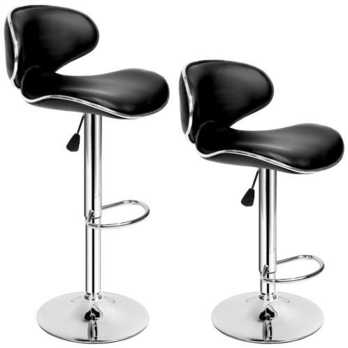 Set van 2 barkrukken - model Bassi - barstoel kruk, 402080