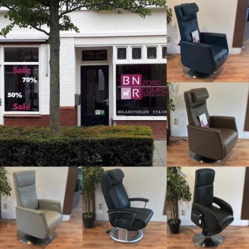 Relax Staop fauteuils GRATIS BEZORGD! Prominent Sta op stoel