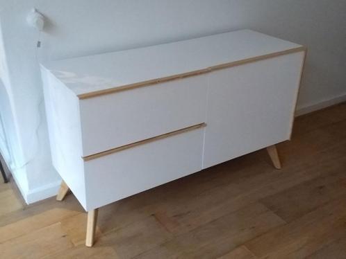 Laforma meety Dressoir Sideboard Kasten - Wit - Hout