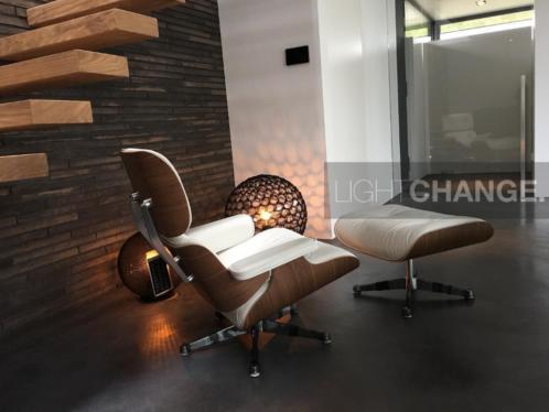 Vitra Lounge Chair & Ottoman XL leder premium nieuw € 5995,-