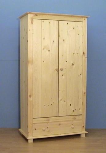 houten KLEDINGKASTEN vele mogelijkheden zelf te kleuren