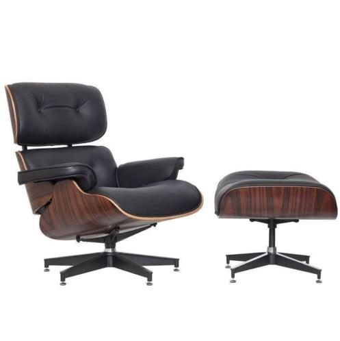 T/M 80% KORTING * MAESSEN lounge chair incl. poef nu €485
