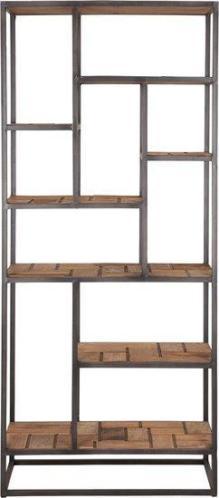 d-Bodhi Mondrian boekenkast met open vakken.