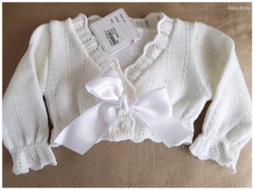 50 baby doop jasje bruidsmeisje newborn bolero met strik